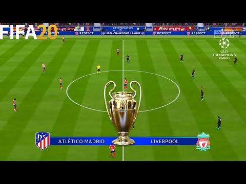 FIFA 20   Atletico Madrid vs Liverpool - UEFA Champions League UCL - Full Match & Gameplay