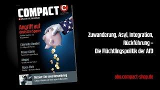 COMPACT Live: Die Flüchtlingspolitik der AfD
