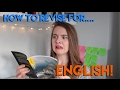 HOW TO REVISE: ENGLISH! | GCSE, A Level, and General Tips and Tricks!