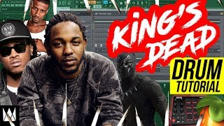 Jay Rock, Kendrick Lamar, Future, James Blake - King's Dead (DRUM TUTORIAL)