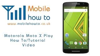 How To Factory Reset/Restore Defaults  - Motorola Moto X Play