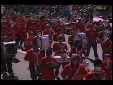 Spanaway Jr High Daffodil Parade 2008