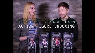 Five Nights at Freddy's Sister Location Action Figures!
