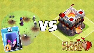 MAX WITCH VS MAX TOWN HALL | Clash of Clans | Mass Bowler and Witch Strategy