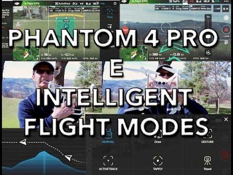 how to use intelligent flight mode phantom 3