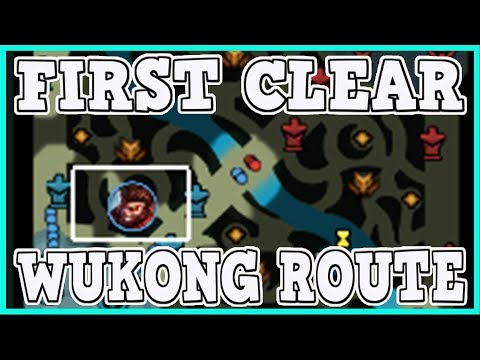 8.10 Jungle First Clear Route for Wukong   In-Depth On How To Deal With The New Jungle & Scuttle