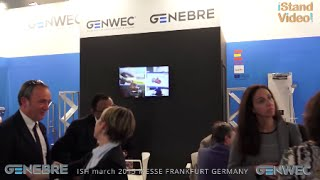 Video stand GENEBRE / GENWEK - ISH march 2015 MESSE FRANKFURT GERMANY master iStandVideo