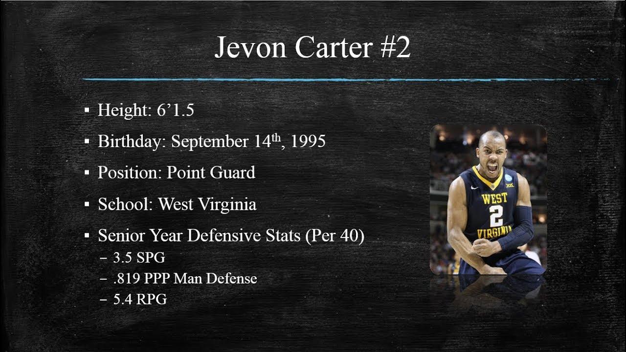 951d4fc00f0 Jevon Carter Defense - Draft Video! - YouTube