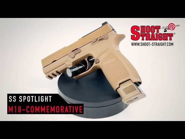SIG SAUER P320 M-18 Commemorative Edition - Shoot Straight Spotlight