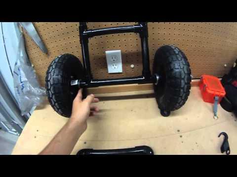 DIY Kayak Cart Under $25 (EASY) 2018