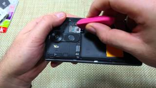 LG V10 How to Remove Replace & Install a SIM Card, Memory Card, Back Cover & Battery
