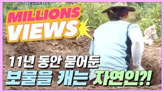11년 동안 땅속에 묻어둔 보물을 캐는 자연인! 그정체는?! [자연인 / 다시보기]