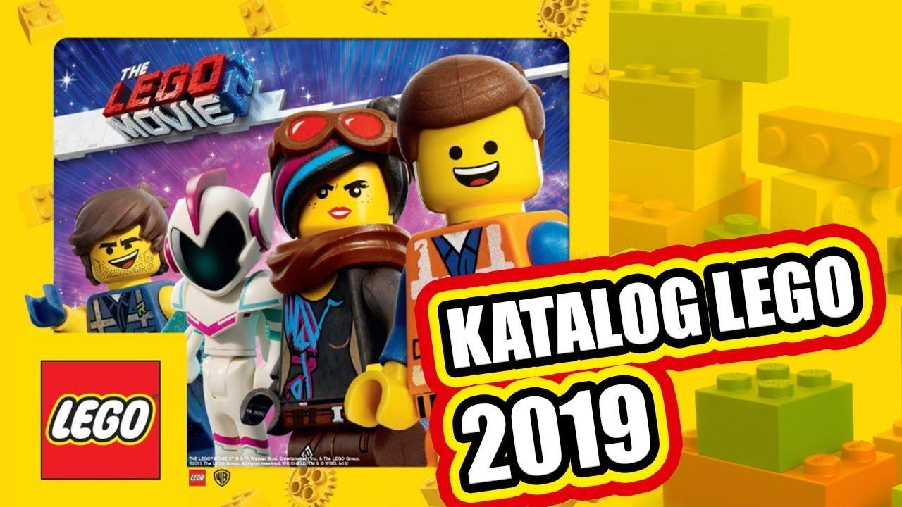 Katalog Lego 2019 Przegląd I Plany Zakupowe Youtube