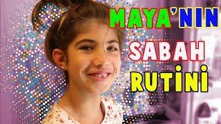 Maya YENİ Okul Sabah Rutini | Bizim Aile
