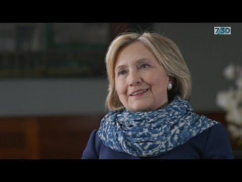 Leigh Sales interviews Hillary Clinton
