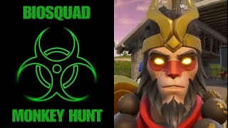 Fortnite - MONKEY HUNT season 3 - Ramp Monkey Gets Blasted (PS4 controller)