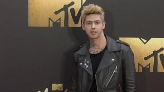 Travis Mills #MTVMovieAwards Red Carpet