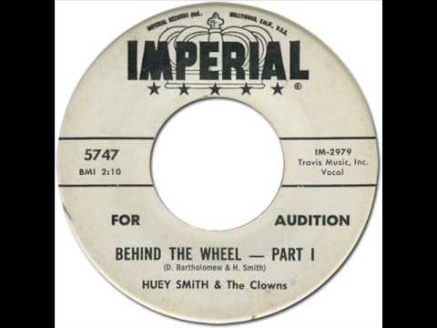 """HUEY """"PIANO"""" SMITH & THE CLOWNS - BEHIND THE WHEEL [Imperial 5747] 1962"""