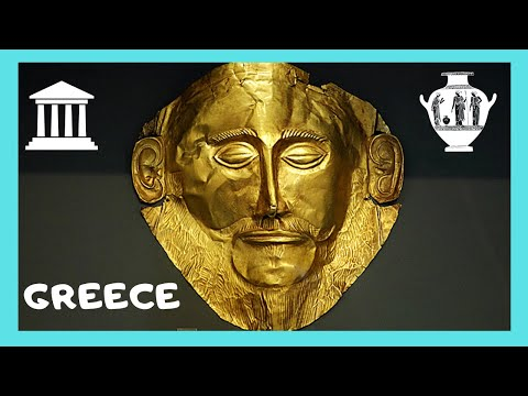 GREECE: The fascinating MUSEUM of ANCIENT MYCENAE  (Μυκήνες)