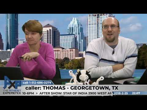 Churches Don't Encourage Asking ?'s & Unmoved Mover | Thomas - TX | Atheist Experience 22.07