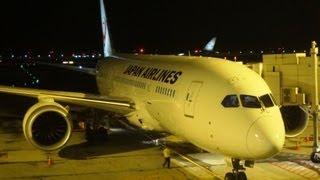 【B787搭乗記】B787-8 Flight Review JAL JL710 Singapore-Tokyo