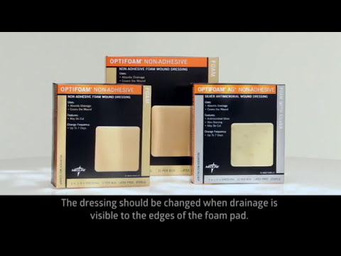 Download How to Apply Medline Optifoam Non-Adhesive Foam Dressing? | Medline Wound Dressings | Get 10% Off*