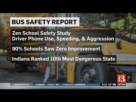 Bus stop safety study