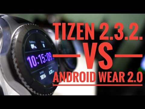 TIZEN VS ANDROID WEAR
