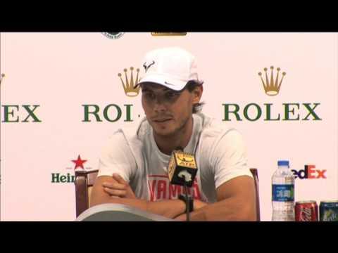 Shanghai 2013 Thursday Interview Nadal