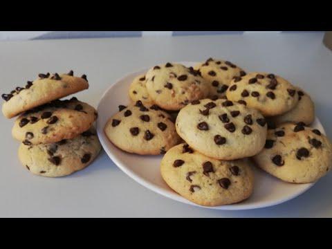 recette-rapide---des-cookies-américains-🍪-aux-noix-et-pépites-de-chocolat-|-chocolate-chip-cookies