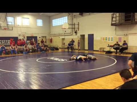 Guido Pigoni's 3rd match for Hampshire Middle School 2-1-17
