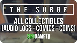 The Surge All Audio Logs - Ironmaus Comics - Shining Coins Locations (All in One Collectibles Guide)