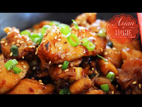 Asian at Home | Easy& Healthy Orange Chicken
