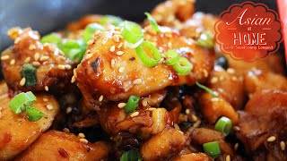 Easy& Healthy Orange Chicken Recipe  오렌지 치킨 만드는법