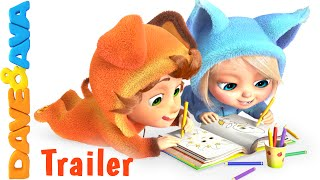 Colors Song - Trailer | Nursery Rhymes and Baby Songs from Dave and Ava