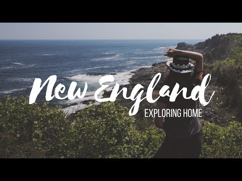 NEW ENGLAND ADVENTURES: from Boston to Monhegan Island, Maine - Travel Vlog