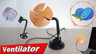 Cum sa faci un Ventilator USB || Mini Ventilator