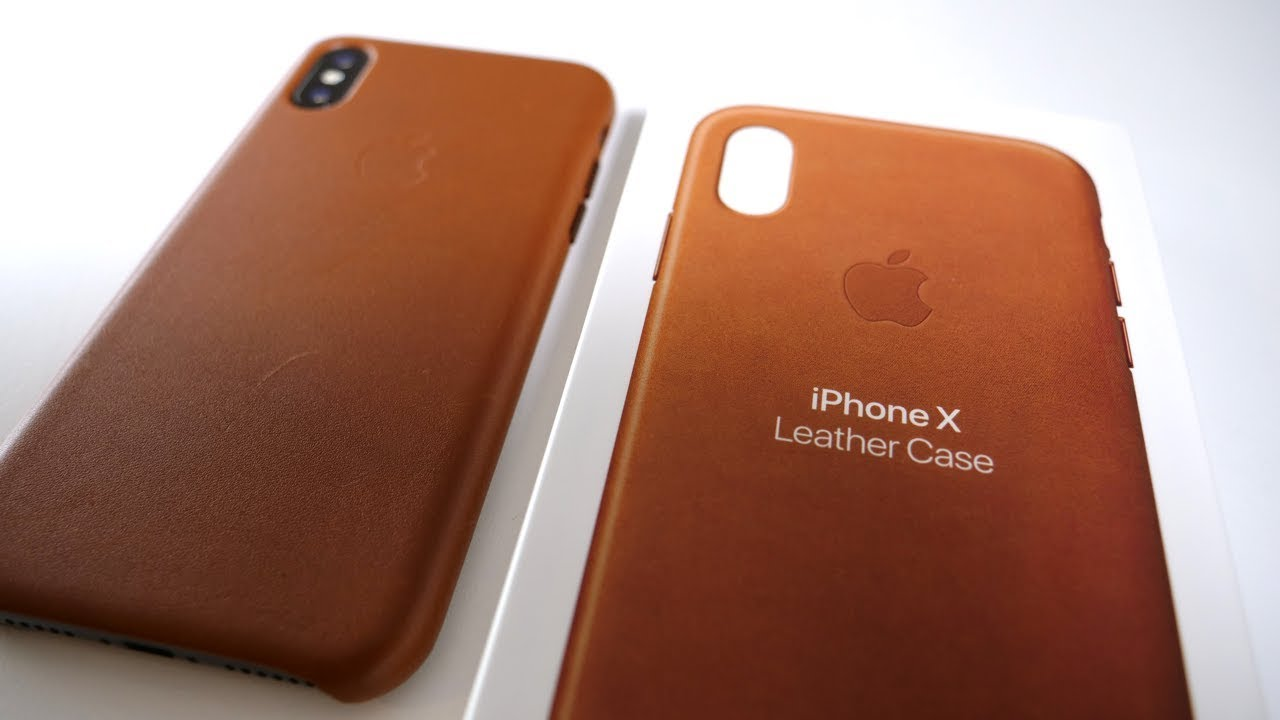 c6402d0656e81b iPhone X Official Leather Case - YouTube