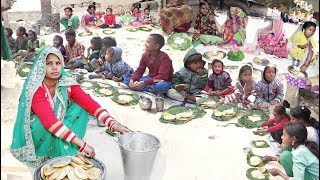 पंचमेवा खीर और पूड़ी, बड़ो और बच्चो का पसंदीदा पकवान KHEER RECIPE with Village Kid HAppy NEW Year 2019