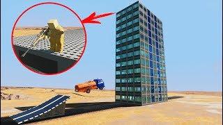 КАМИКАДЗЕ Против СНАЙПЕРА НА ЗДАНИИ - Brick Rigs
