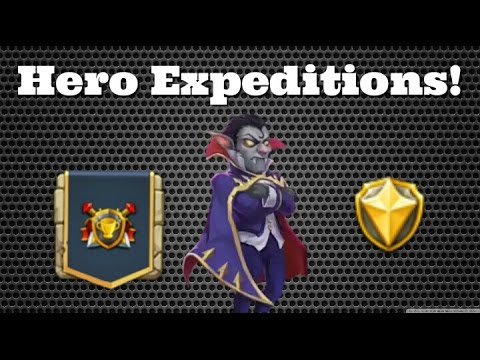 Castle Clash Hero Expeditions And Chat!