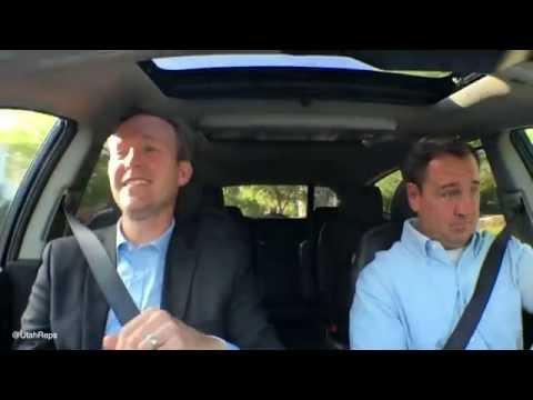 Utah Politicos Hamilton Carpool Karaoke in 2 minutes