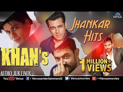 KHAN'S - Jhankar Hits | 90's Romantic Love Songs | Jhankar Beats Songs | JUKEBOX | Hindi Love Songs