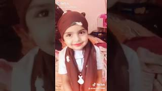 Hijab tutorial by maisha. 3years old baby girl