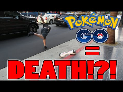 ALMOST DIED PLAYING POKEMON GO!!