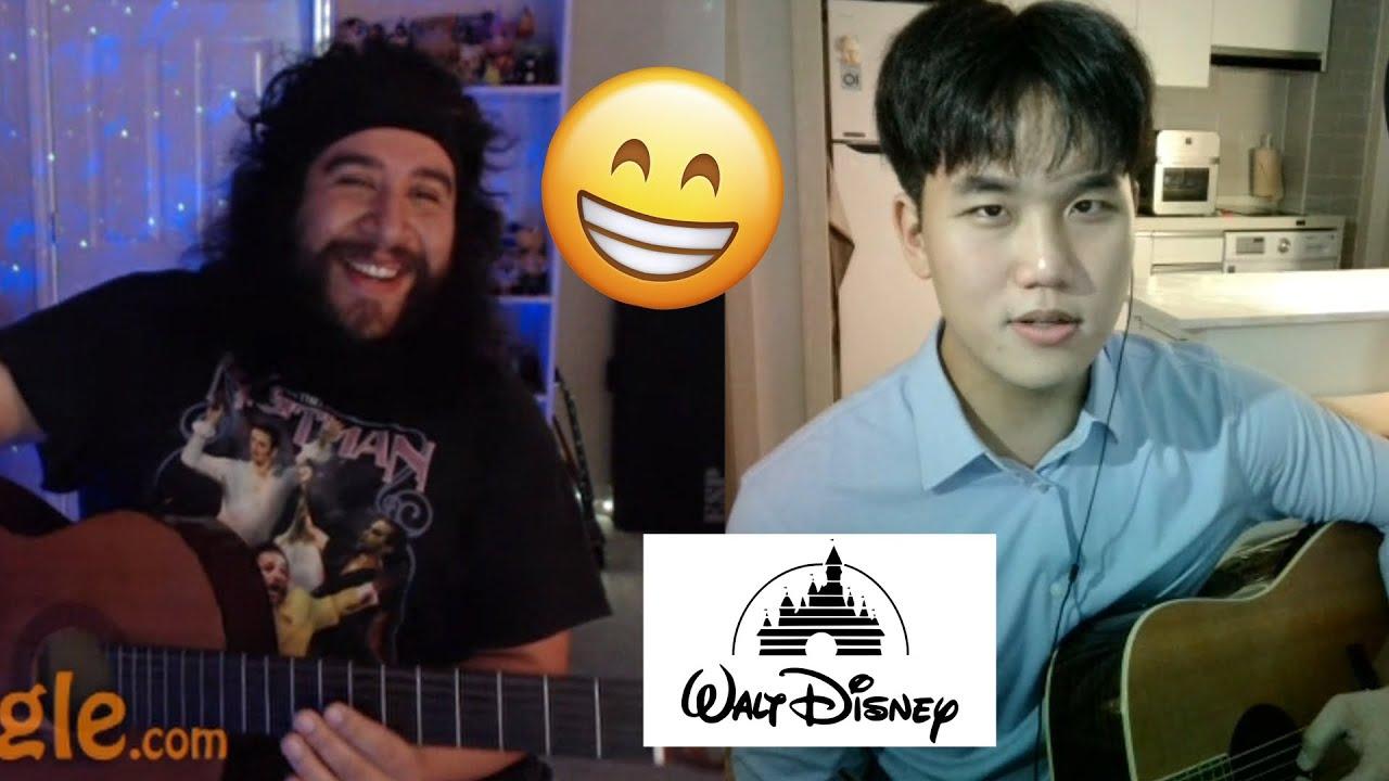 해외 랜덤채팅에서 디즈니노래 부르기..!! [EP 27]