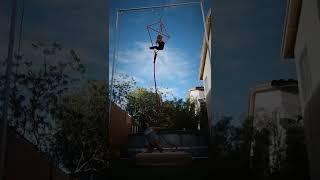 Charlene Roxanne Hoover Bride of Frankenstein aerial Kite practice