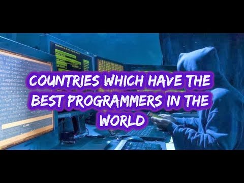 Top 10 countries with best programmer around the world 2017