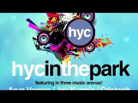 HYC in the Park - popup music festival for corporate company