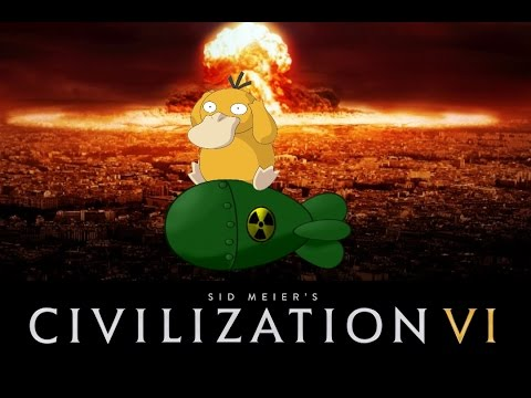 Ядерная война в Civilization VI. Бомбарда максима!